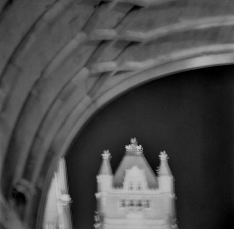 Underneath Tower Bridge - London