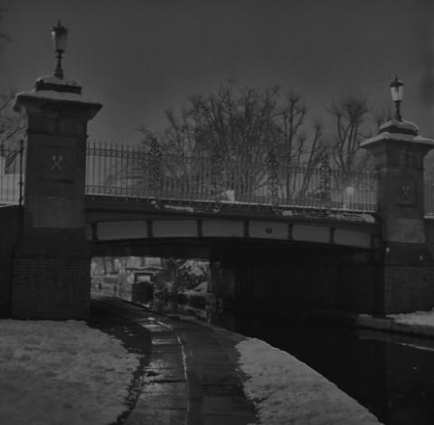 Walkway by Little Venice Canal - London