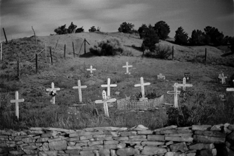 Roadside Cemetery - New Mexico